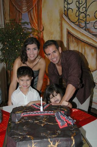 Jiubel's surprise birthday party