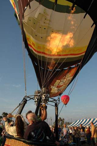 Hot Air Balloon Race